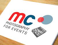 Logotipo. Empresa: Manu Cabañas. Eventos Fotográficos.