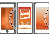 App Design for Spark FM
