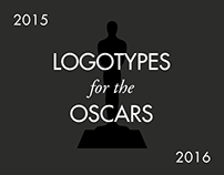 Logotypes for the Oscars