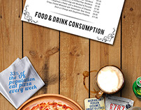 Food & Drink Consumption Infographic