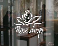 #Rose_shop تصميم شعار لمتجر بيع الازهار و الورد