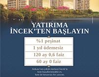 Nata İncek Konutları / Print Ad