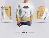 24 Mockup Mens Sweatshirt (3 free) by december.dsgn