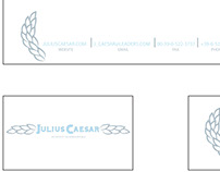 Julius Caesar logo/stationary