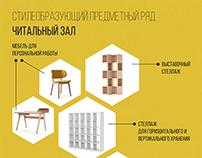 Концепция библиотечной среды • Library concept
