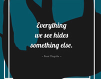René Magritte theme