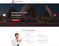 Website Design - Immigration Consultants Website Design