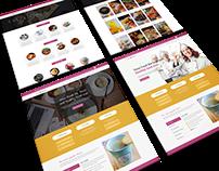 Vevo Food- Free Restaurant, Cafe Website PSD Tempalte