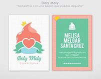"""Desarrollo de marca """"Dely Mely"""""""