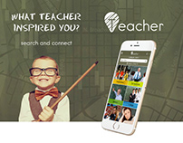 Teacher Finder App UX/UI