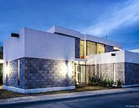 Casa Block / Tangente Arquitectura MX