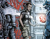 SOLDIER SUB ZERO - comic