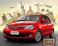 Toyota - Test Drive Etios