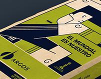 ARGOS Illustration Packing / Futsal World Cup 2016