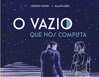 Graphic novel O VAZIO QUE NOS COMPLETA