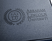 Logo & collateral design for Abraham Lincoln University