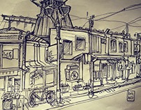 Travel Sketches - Asia