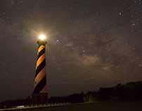 Cape Hatteras Lighthouse and Milky Way