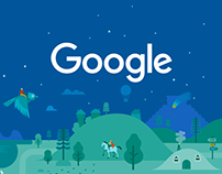 Google Play Store illustrations