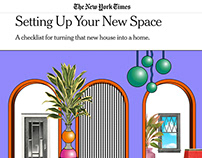 The New York Times — Setting Up Your New Space