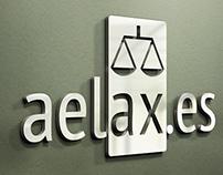 Aelax.es - logo design