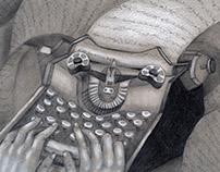 Happy Typewriter