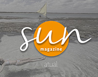 Redesign projeto gráfico | Sun Magazine
