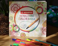 STABILO / Coloring book