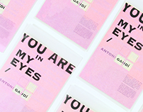 You are in my eyes