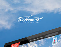 SkyVenture Website Design