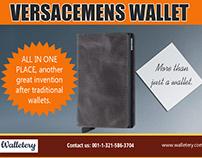 mens leather card holder wallet