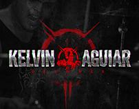 Kelvin Aguiar Drumms Logo Type Project