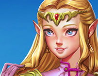 Princess Zelda Fanart