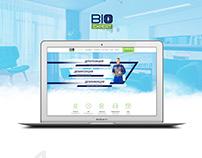 """Landing Page """"Bioexpert"""""""