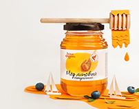 Paper honey: posters on natural products