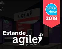 Estande Agile Promoter - APAS 2018