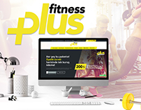 Plus Fitness GYM Website