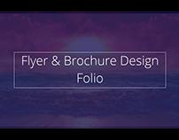 Flyer & Brochure Design Folio