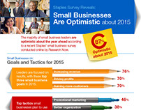 Staples Small Business Survey — Infographic