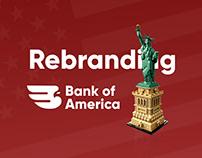 Bank of America | Rebranding Concept