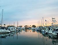 Dana Point Harbor, California, USA