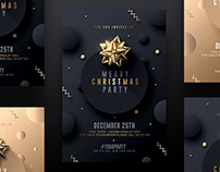 Christmas Invitations - Photoshop PSD