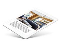 Shor Home Furnishings Website Design
