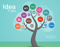 Infographic Idea Tree Presentation Template