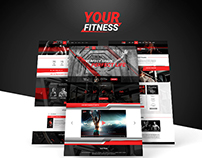 Your Fitness - PSD Template