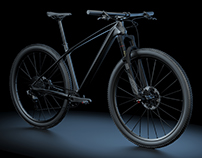 Modeling 3D - CrossCountry Bike (XC) Ghost Lector