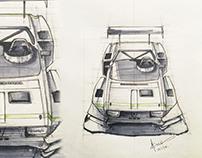Renault 12 Gordini race car