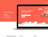 Creative Landing Page