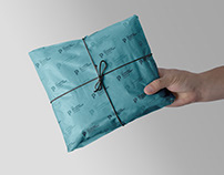 Free Gift Wrapping Tissue Paper Mockup