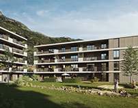 Housing Complex in Gries-Quirein, Italy